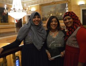 Three Sisters with Award